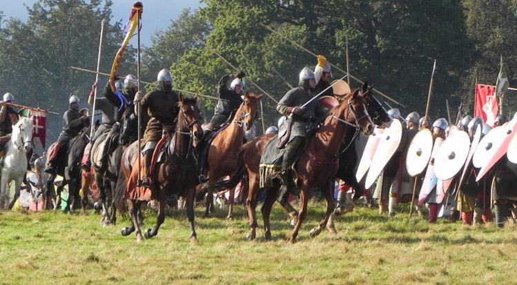 ヘイスティングの戦い。ノルマン騎兵VSイングランドのシールドウォール