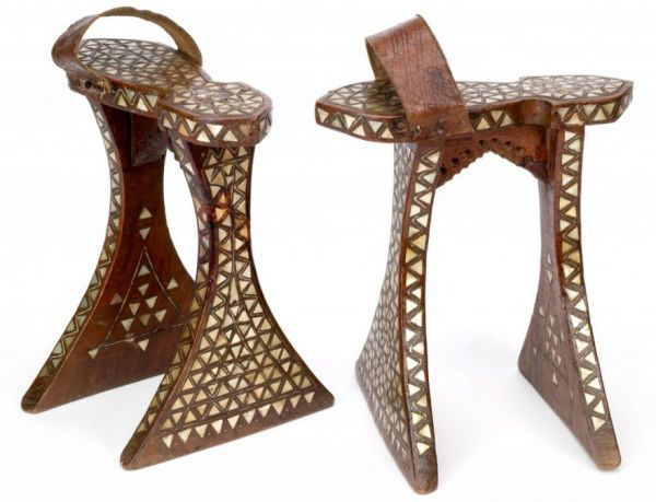 Qabâqibなどと呼ばれるオスマンの風呂用サンダル(19世紀) / Bata Museum of Shoes (Toronto)