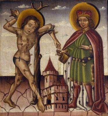 St. Sebastian, Heiligenkreuz, 1420-1430