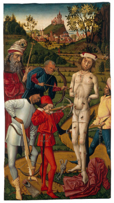 The Martyrdrom of Saint Sebastian, Unknown Master, Wallraf-Richartz-Museum in Köln, 1475