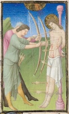 Belles Heures of Jean de France, duc de Berry, 1405–1408, fol 165v