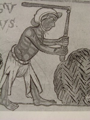 1200 inizi, calendario, notre dame, Pritz, affresco