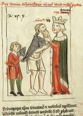 Speculum humanae salvationis, MS M.140 fol. 24r