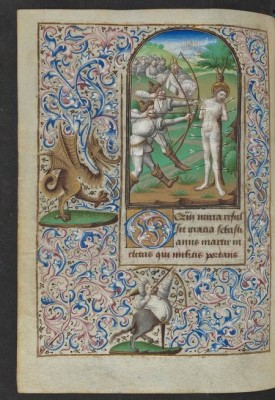 Book of hours of Simon de Varie, fol 76v