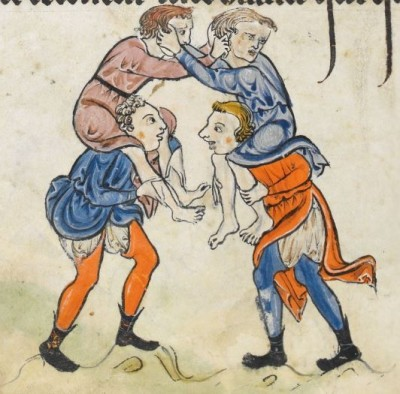"""The Rutland Psalter"", medieval (c1260), British Library Add MS 62925. f 70v"