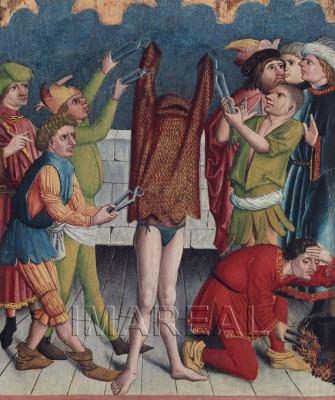 Kettenhemdmartyrium des Hl. Georg (1465)
