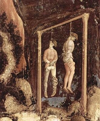 de pendaison par Pisanello 1436-1438