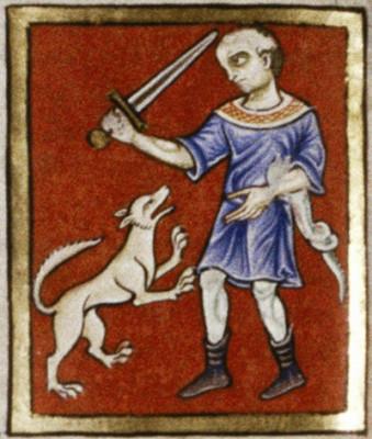 Bodleian Library, MS. Ashmole 1462, fol 13v