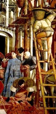 Domenico di Bartolo, Santa Maria della Scala, Siena