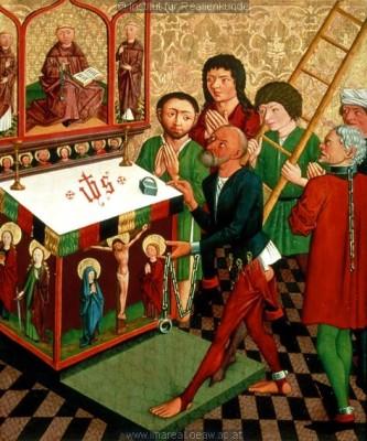 Оригинал взят у marinni в Из истории штанов. Картинки. 12-16 век.