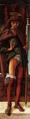 Carlo Crivelli, Saint Roch, 1493