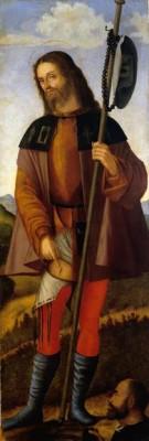 San Rocco con un donatore, Vittore Carpaccio, 1514