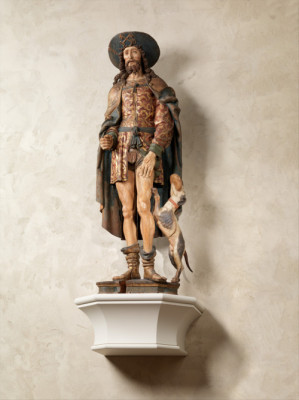 Saint Roch (early 16th century), French. Metropolitan Museum of Art.
