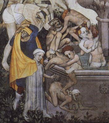 Me maestro del Castello della Manta, Fontaine de Jouvences, 1410-1430