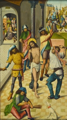 The Flagellation of Christ, c. 1480, Master of the View of St. Gudule