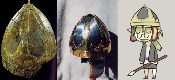 from German Historical Museum / from http://www.manningimperial.com/catalogue/helmets/spangens/ostrogothic-helm/229