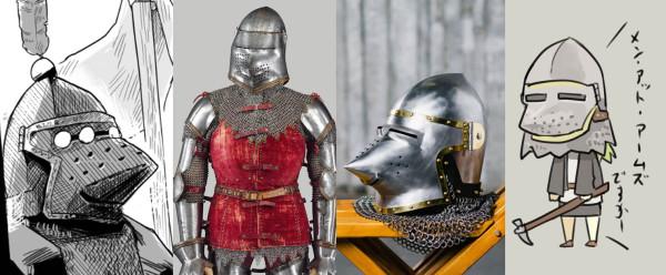from MET museum / from http://www.steel-mastery.com/en/plate-armour/helmets/bascinet-hounskull-or-pig-face-bascinet