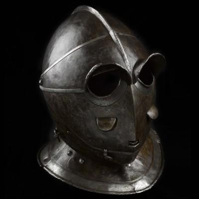 from http://www.lennartviebahn.com/arms_armour/antiques/savoyard_helmet.html